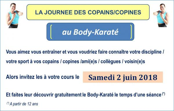 Ksr journee des cops body karate