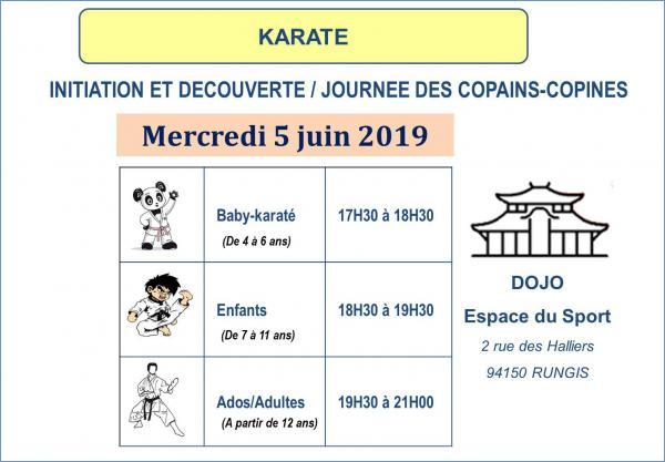 Ksr journee des cops karate 2020