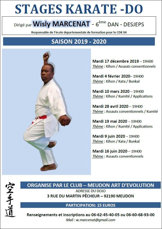 KSR Wisly MARCENAT Meudon saison 2019-2020